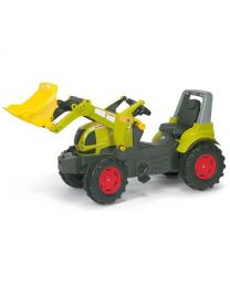 Claas Arion 640 mit RollyTrac Lader