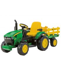 John Deere Ground Force mit Anhänger, 12V