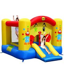 Clown Slide and Hoop Bouncer 0019201